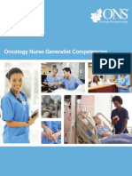 Oncology Nurse Generalist Competencies 2016