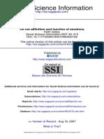 Social Science Information 2007 Oatley 415 9