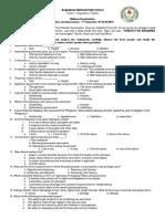 Politics and Governance - 1st Periodic Exam.docx