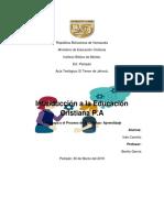 4 Pedagogia y El Proceso de Enseñanza- Aprendizaje