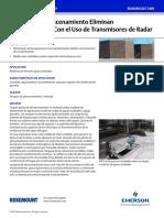 Case Study Tanques de Almacenamiento Eliminan Mantenimiento Con El Uso de Transmisores de Radar Rosemount Es 88810