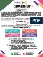 Pamflet Sponsorship UMKM New