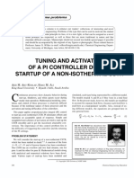 Tuning and activation of a PI controler during startup of a non-isothermal cstr.pdf