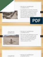 Analisis de Materiales Caral