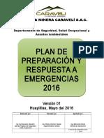 Plan de Preparación y Respuesta a Emergencias 2016