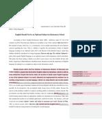 Argumentative Essay1 Draft 2
