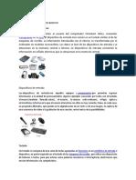 Dispositivos perifericos de la computadora