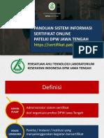 Pandu an Sistem Sertifika t Online
