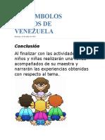 OS SÍMBOLOS PATRIOS DE VENEZUELA.docx