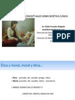 Bioética Curso Médicos EsSalud