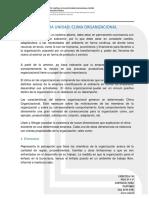 Unidad III Desarrollo Organizacional