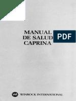 Manual de Salud Caprina