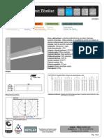 440101 - 3034 ATENEA 2.5 LENS E05 1170x65x80 INCRUSTAR 4LED-LINE 1R1FT 9W.pdf