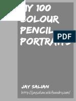My 100 Colour Pencil Portraits