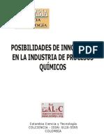 Posibilidades de Innovación en La Industria de Procesos Químicos