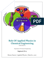 Applied Physics in Chemical Engineering
