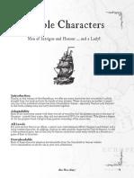 QuickStart Characters