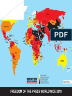 Reporters Without Broders Press Freedom Index 2019