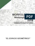 Morfologia III - Espacio Geometrico - 2013