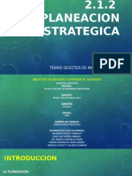 Planeacion estratégica