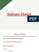 1. Software Design