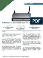 Dsl-2750u Data Sheet En