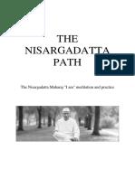 Nisargadatta Maharaj the Nisargadatta Path