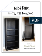Crate & Barrel Knock Off Bookcase