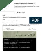 Instalação Completa do Insigne Momentum 5.0
