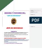 Misiones y Funciones Del Jefe de Seguridad Director de Seguridad Mandos Intermedios Personal Operativo de Seguridadc.docx