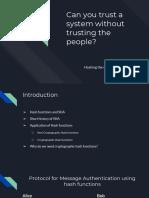 Crypto Presentation