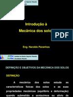 Introdução a Mecânica Dos Solos 10 08 09