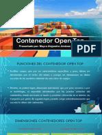 Contenedor Open Top