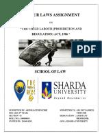 Labour Laws Assignment - Copy