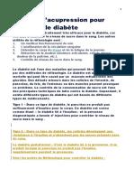 6 Points d'Acupression Pour Controler Le Diabete