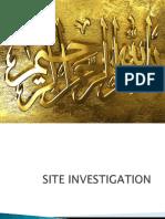 Site Invistigation Soil Testing