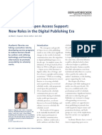 Libraries and Open Access Support