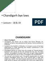 Chandigarh Bye Laws