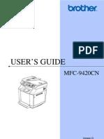 Mfc-9420cn Usaengusr d