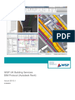 WSP UK Building Services - BIM Protocol (Autodesk Revit)