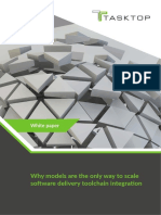 Why Models Are the Only Way to Scale Software Delivery Toolchain Integration