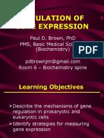9 - Gene Expression 3 - Regulation