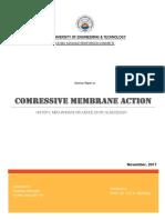 Compressive Membrane Action