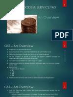 GST in Banking