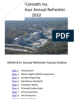 MSHA AR 2010 Course Outline Master