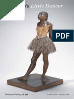 Degas Little Dancer Brochure