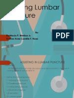 Assisting Lumbar Puncture Copy