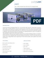 1535nm Eye-safe Laser Datasheet-laser Crylink.com