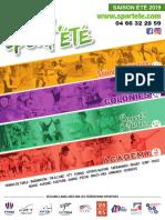 Brochure Sport'Été 2019