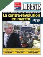 Libertie la une du 10/04/2019